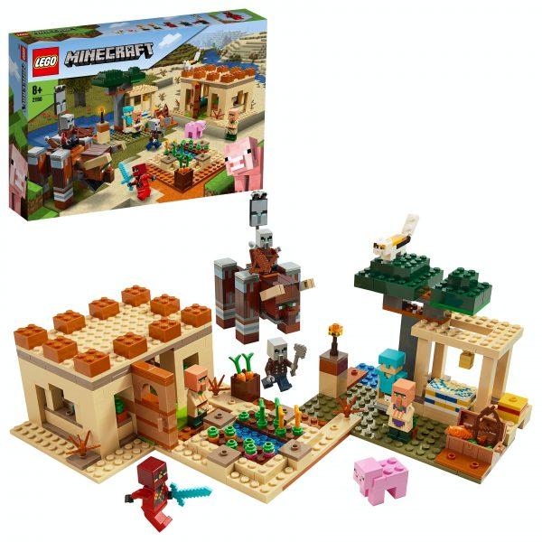 LEGO® Minecraft 21160 De Illager overval