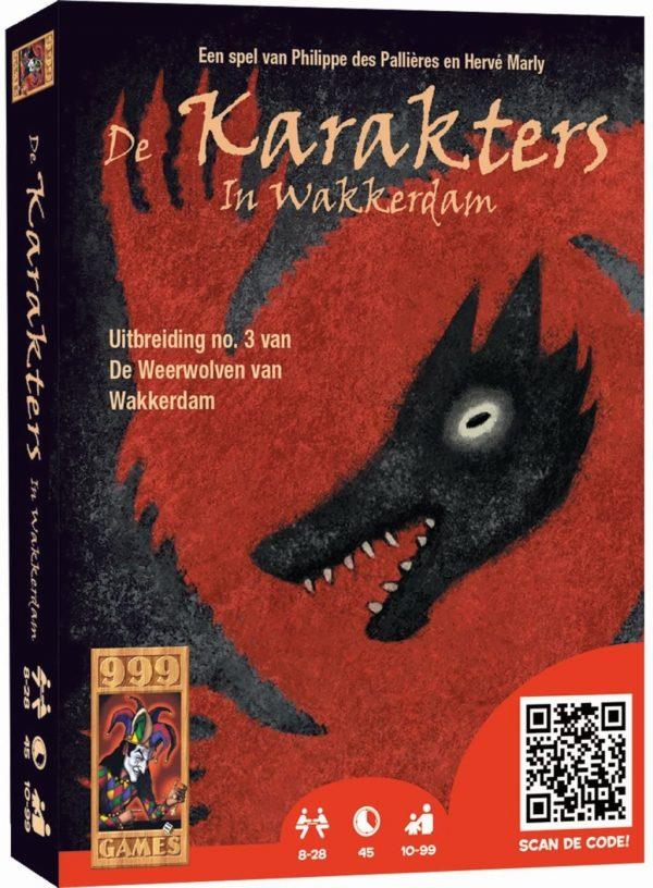 999 Games De karakters in wakkerdam