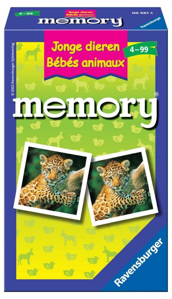 Ravensburger Pocketspel Jonge dieren memory®