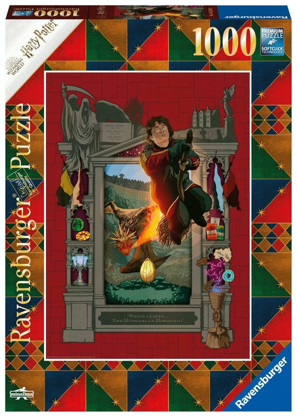 Ravensburger puzzel 1000 stukjes Harry Potter en de Vuurbeker