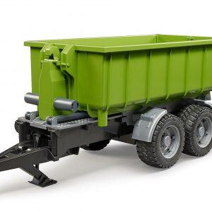 Bruder haakarmtrailer voor tractoren