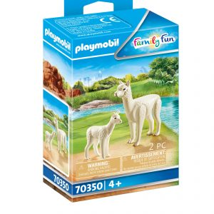 PLAYMOBIL® Family Fun 70350 Alpaca met baby