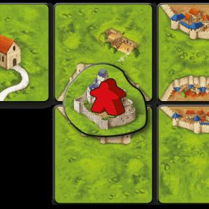999 Games Carcasonne bruggen burchten en bazaars
