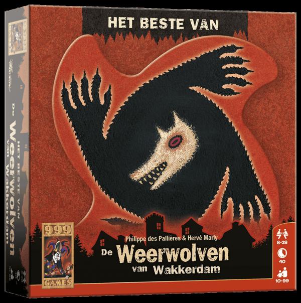 999 Games De Weerwolven van Wakkerdam Het beste van bordspel