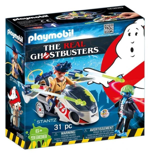 PLAYMOBIL® Ghostbusters 9388 Stanz met luchtmoto