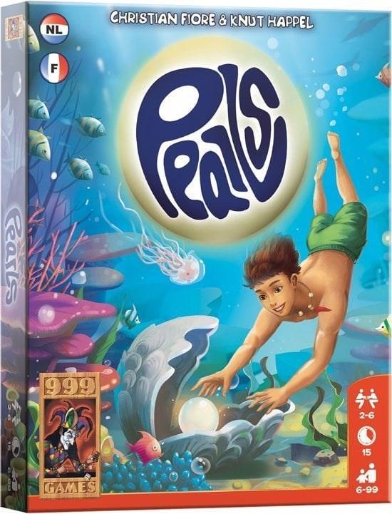 999 Games Pearls - Kaartspel