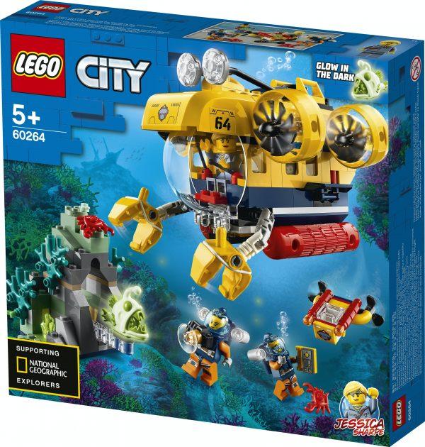 LEGO® City 60264 Ocean Exploration Submarine