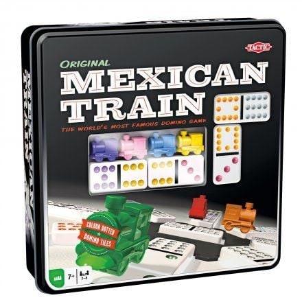 Mexican train Tin box