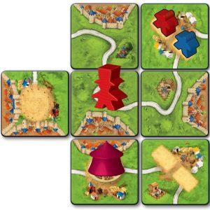 car36999 Games Carcassonne: Het circus