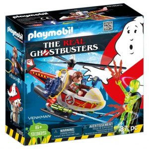 PLAYMOBIL® Ghostbusters Venkman 9385 met helikopter